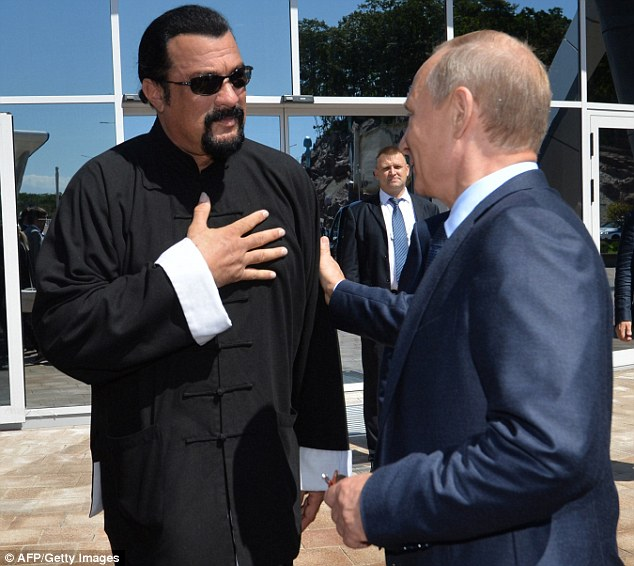 From Putin's Hands: A Russian Passport for Steven Seagal