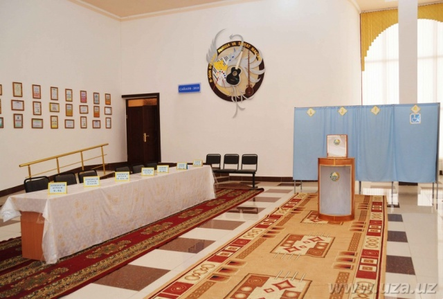 Polling stations are ready for elections