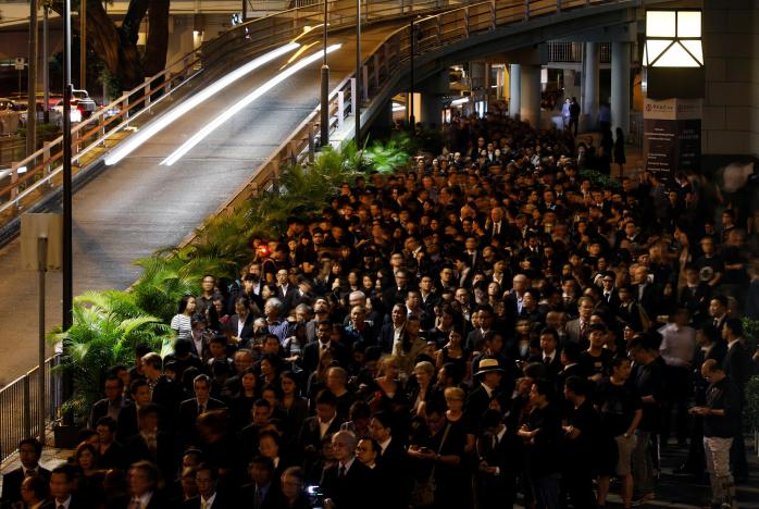Hong Kong lawyers march to condemn China's legal 'interference'