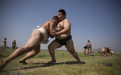Mongolia conquering Japanese sumo