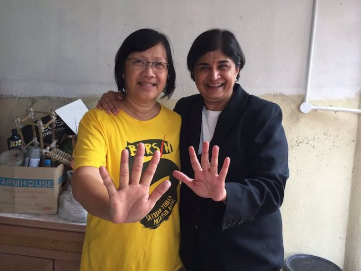 Maria released from Sosma detention