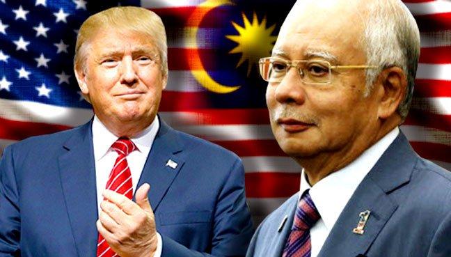 Najib, Trump agree to further boost KL-Washington ties