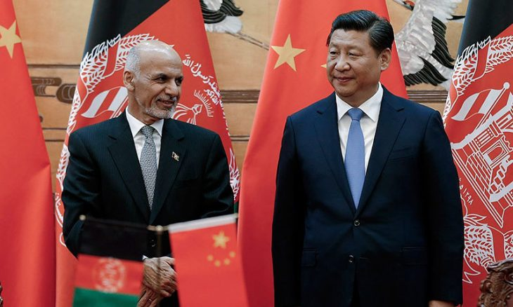 China dismisses report of military patrols in Afghanistan