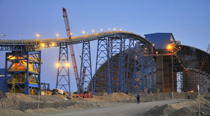 Turquoise Hill suspends Mongolia mine shipments to China
