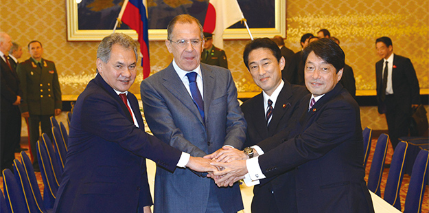 Russia, Japan sign 68 agreements during Putin's visit: officials