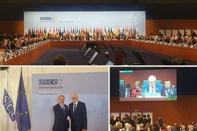 Uzbekistan's Foreign Minister addresses 23rd OSCE Ministerial Council