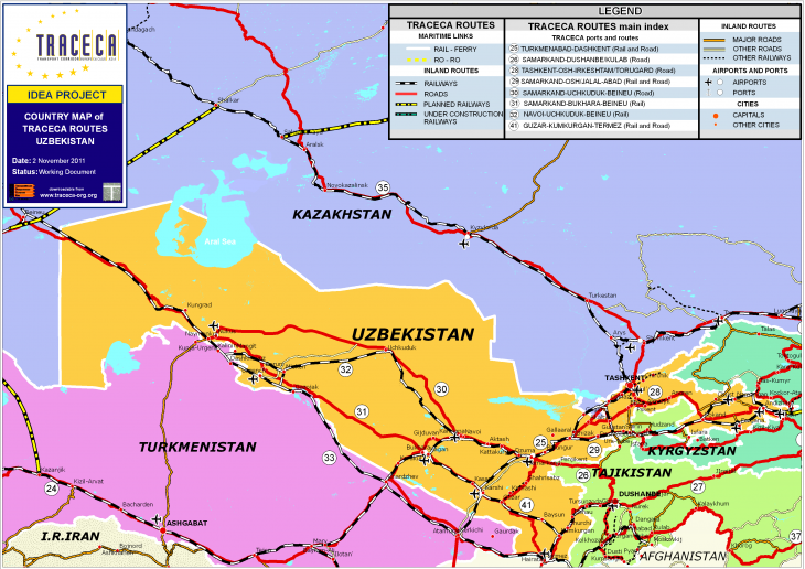 Turkmens outraged over Tajikistan's plans to build railway line bypassing Turkmenistan
