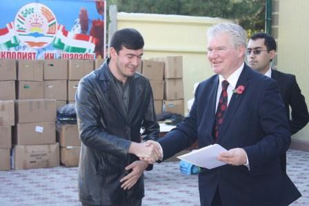 Tajikistan in 2016 receives $55.8 mln humanitarian aid from 55 countries