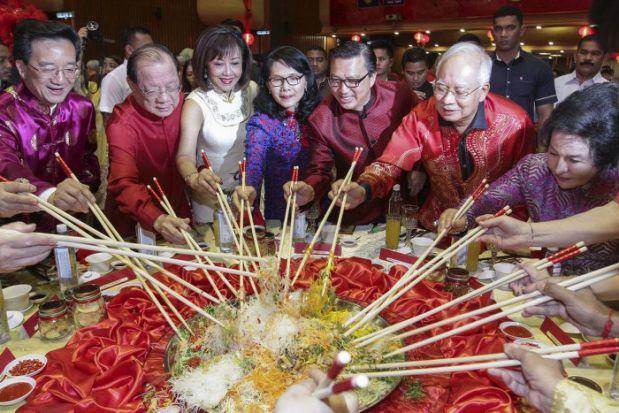 For CNY, Najib hopes for a better economy, unity