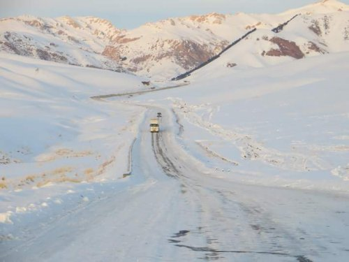 Winter in Central Asia: 2017