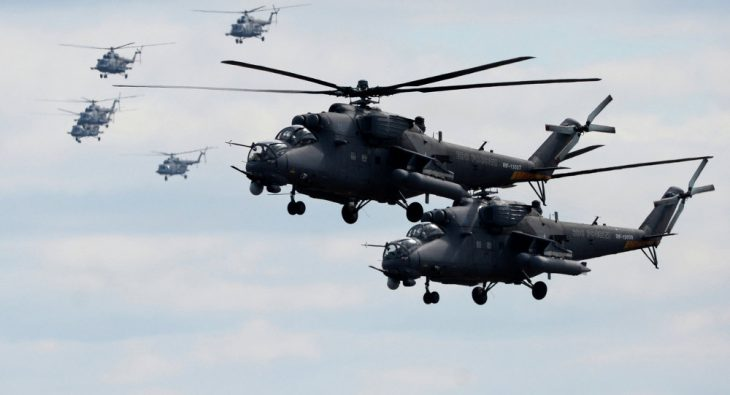 Russia to start deliveries of helicopters to India in 2019