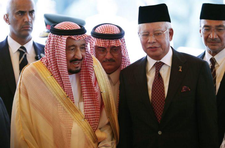 King Salman, Najib discuss bilateral issues, improvements in Malaysia-Saudi cooperation