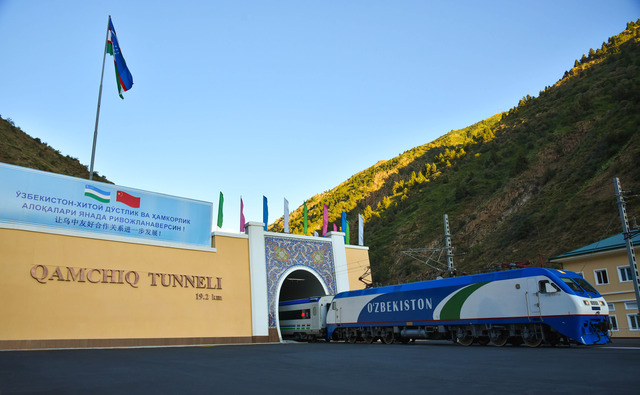 Cargo train services launched between Uzbekistan and China's Xi'an