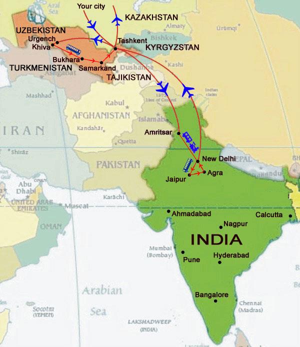 """Uzbekistan Airways"" opens flights to Lahore, Pakistan and Dushanbe, Tajikistan"
