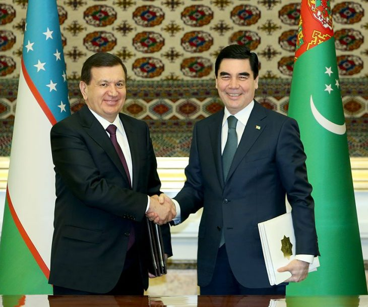 Turkmenistan, Uzbekistan sign package of documents