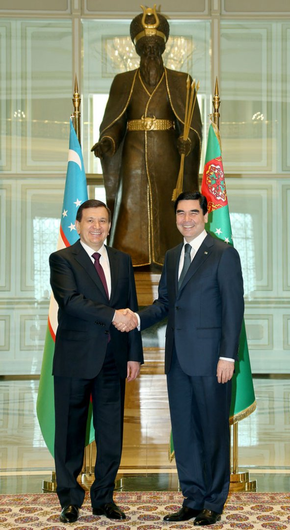 President Gurbanguly Berdimuhamedov gave utterance to the strategy of activation of Turkmen – Uzbek cooperation