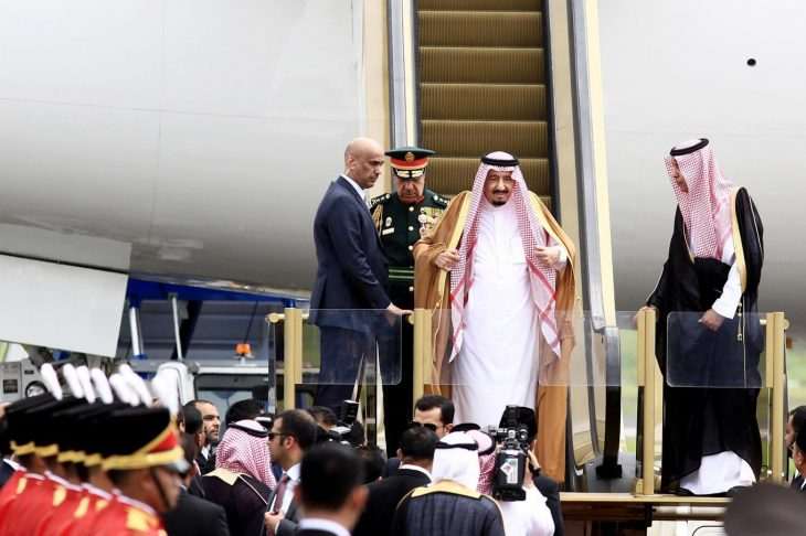 Saudi king visits Japan, seeks help on diversifying economy