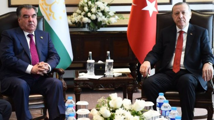 Rahmon, Erdogan agree to hold 1st Cooperation Council Meeting of Tajikistan and Turkey