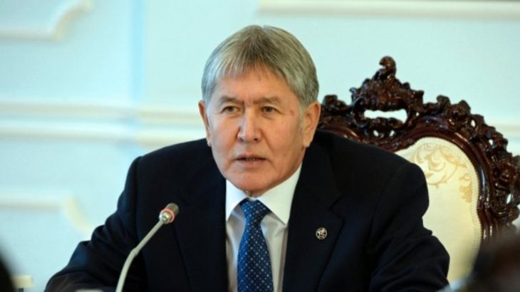 """People died in April 2010 for motherland, not for your stupid party"": Atambayev to Ata-Meken supporters"