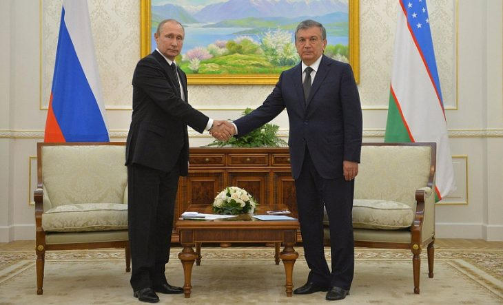 Partnership between Russia and Uzbekistan has developed to a heightened level of strategic alliance lately