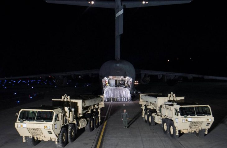 To China, America Finally Looks Vulnerable Beijing's all-out struggle over antimissile battery in South Korea sends a chilling message to U.S. allies