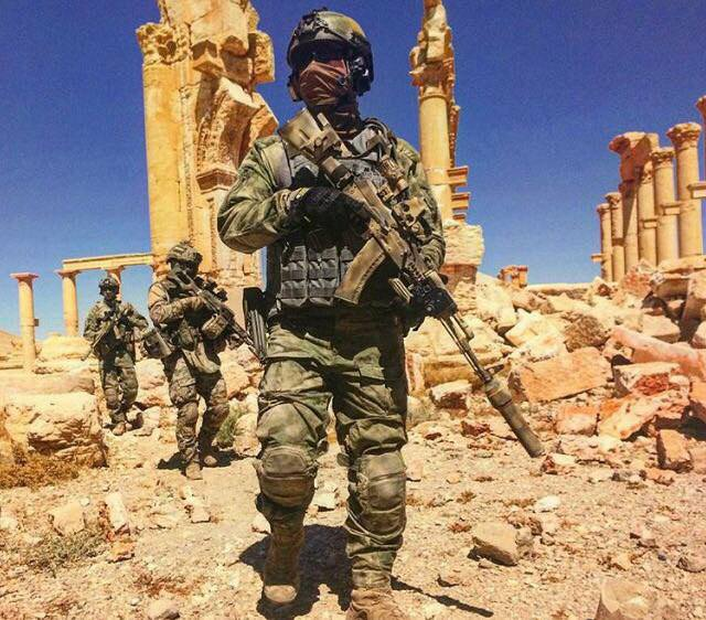 Russia says its military advisers, special forces behind Palmyra recapture