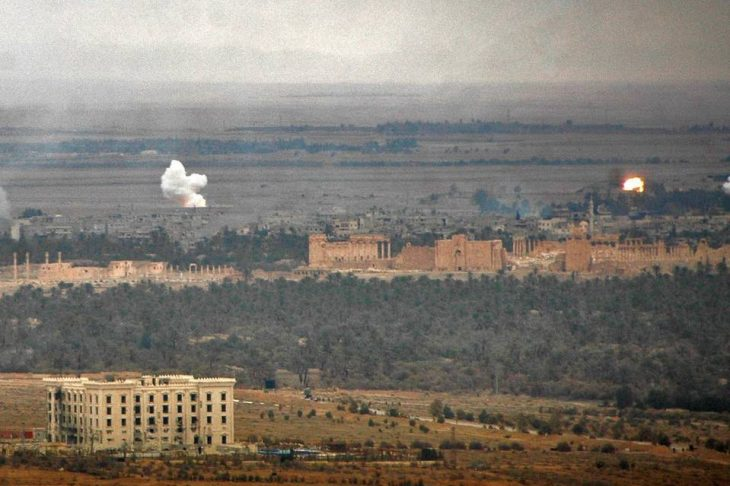 Syrian Troops Retake Palmyra From Islamic State