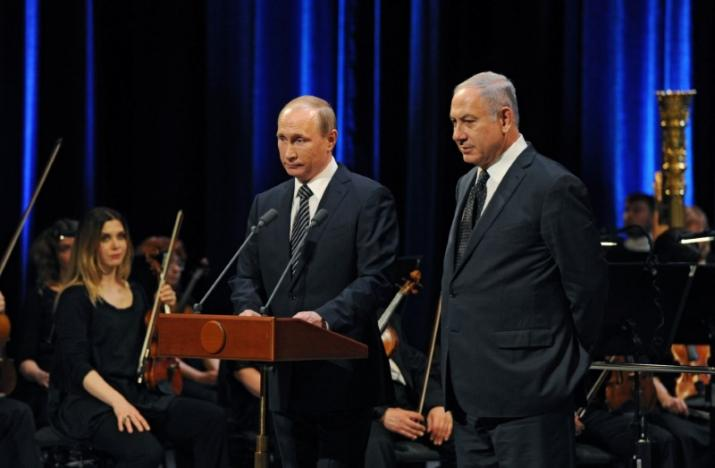 Netanyahu to meet Putin, says Iran seeks permanent foothold in Syria