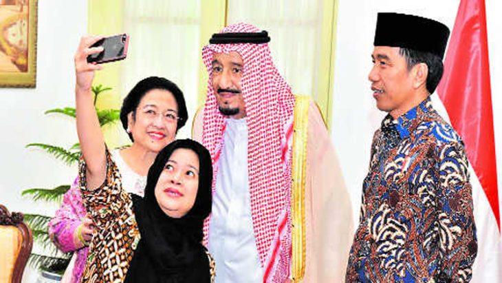 Saudi king's Bali beach holiday turns into military exercise