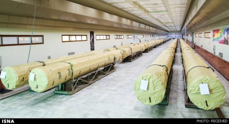 Iran says it has built third underground ballistic missile factory