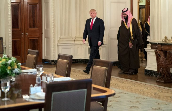 Saudi Arabia, Ignoring Trump's Slights, Will Give Him a Royal Welcome