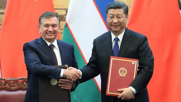 Uzbekistan and China to further expand bilateral cooperation and work together in building Belt and Road