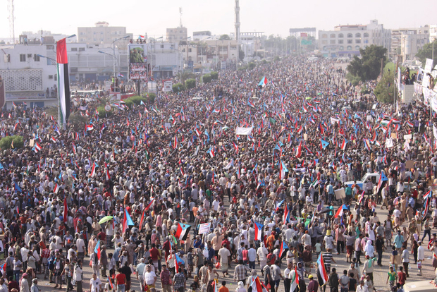 Yemen: Thousands protest for southern secession