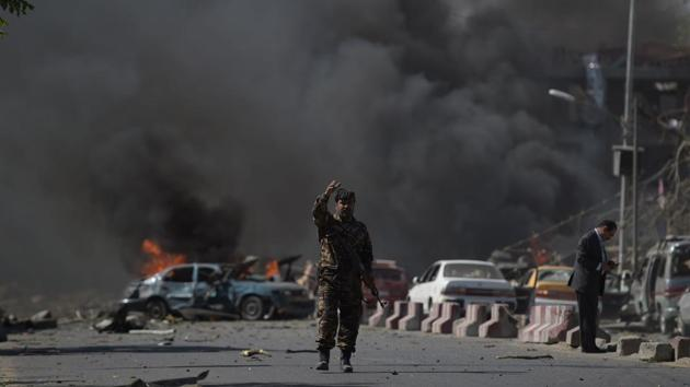 Bomb blast near Indian Embassy in Kabul