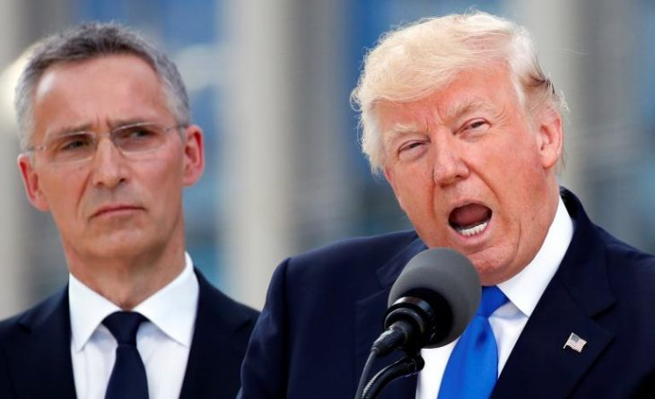 Trump directly scolds NATO allies, says they owe 'massive' sums