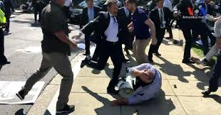 In Video, Turkish Leader Looks On as His Guards Clash With U.S. Protesters