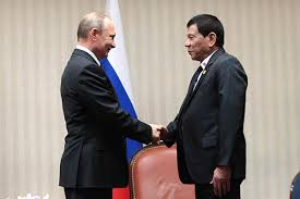 Philippine leader halts Russia trip, imposes martial law on restive island