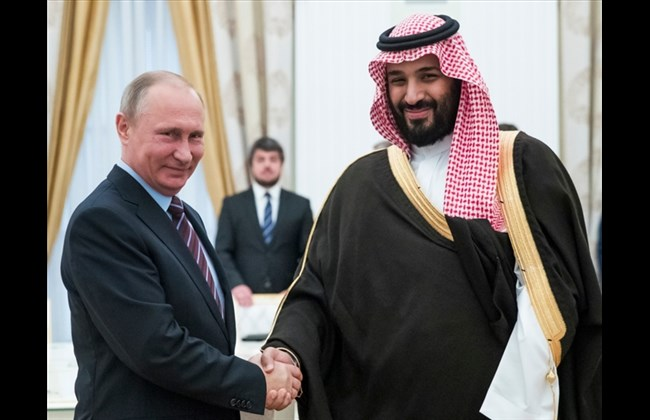 Putin, Prince Mohammad praise oil, Syria talks