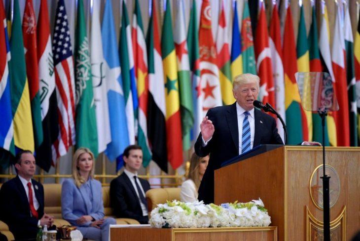 Trump's un-American speech in Saudi Arabia