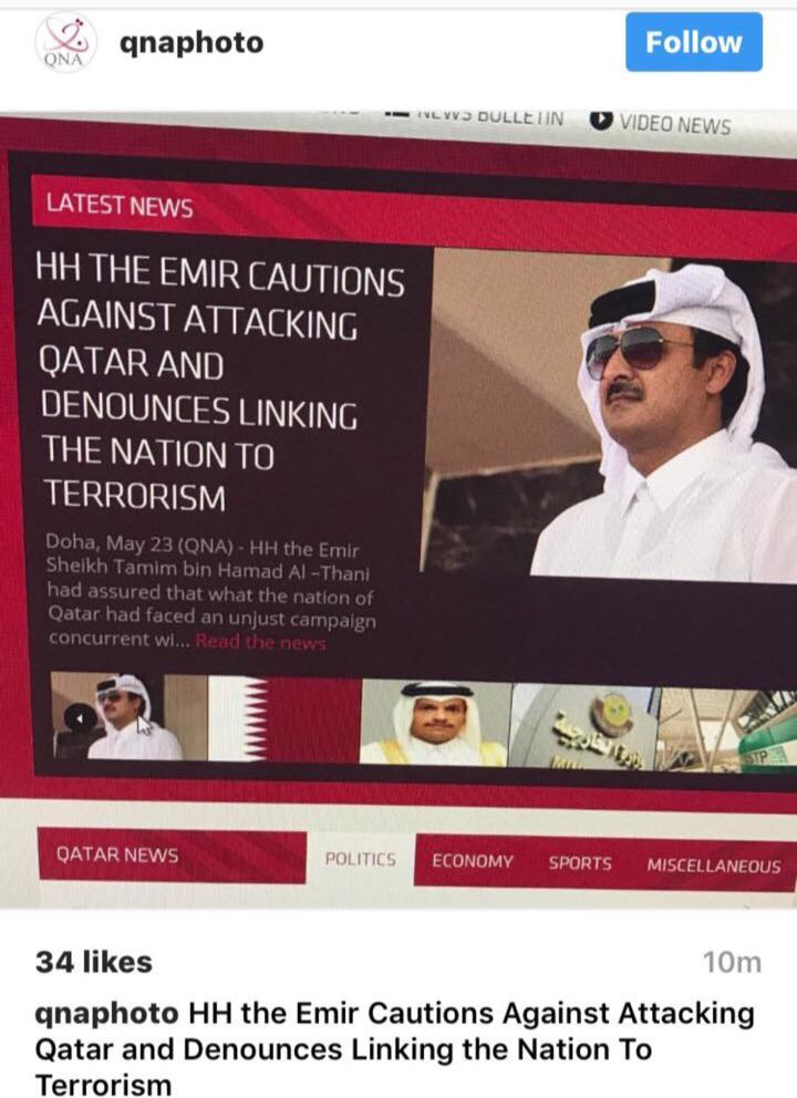 Qatar plays down fears of rift with Gulf states over 'fake' criticism by emir