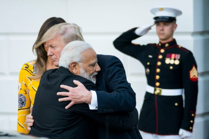 With Modi in Washington, China and India 'Jostle' on Their Border