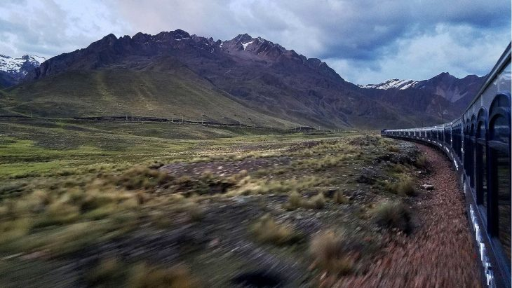 South America's first luxury sleeper train offers Peru's best views – and menu