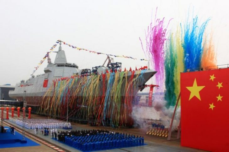 Dragon is rising: China launches new class of naval destroyer