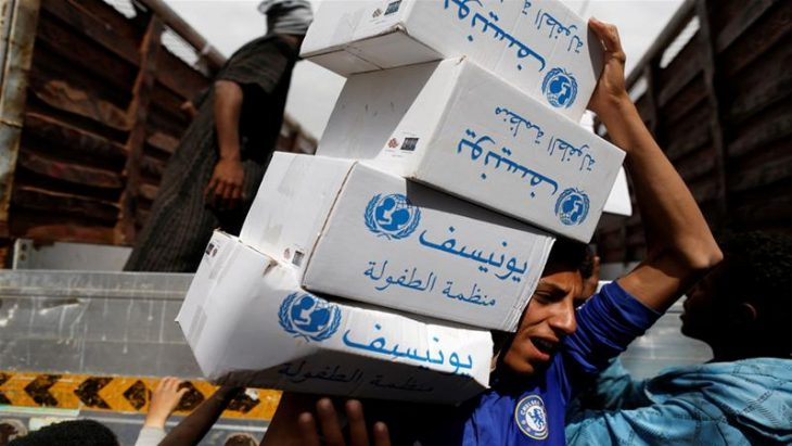 Saudi coalition blocks fuel for UN aid planes to Yemen