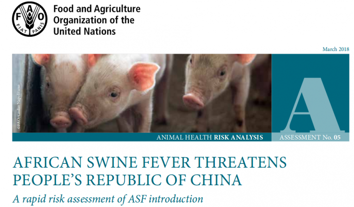 China bans pigs, wild boars and products from Mongolia