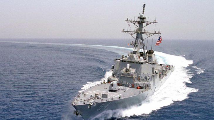 Missile guided U.S. Navy ships pass through strategic Taiwan Strait, riling China