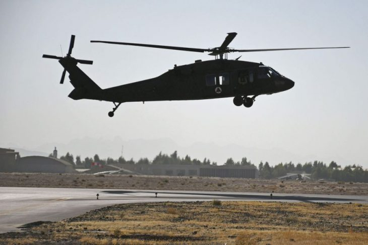 Afghanistan's Black Hawk program is short of pilots to fly them