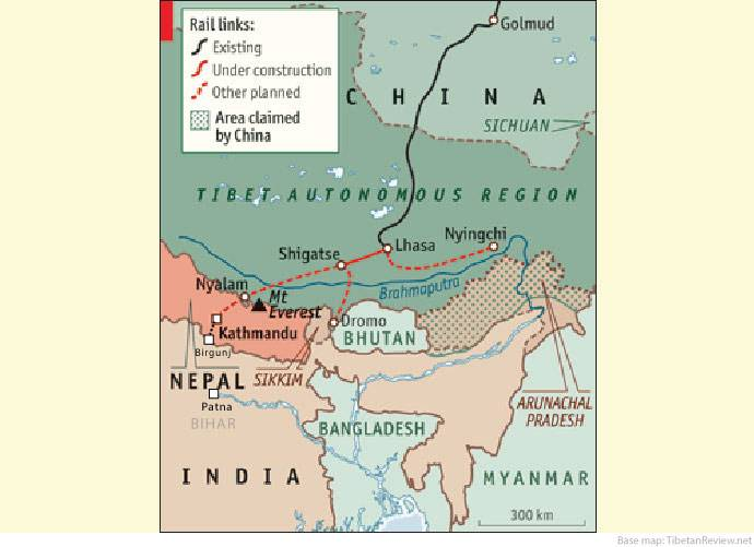 Nepal hitches railway to Chinese standards in blow to India Himalayan nation will use a Beijing-favored gauge except at southern border