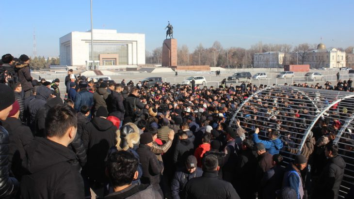 Kyrgyz Interior Ministry still working on anti-Chinese rallies to locate those behind them