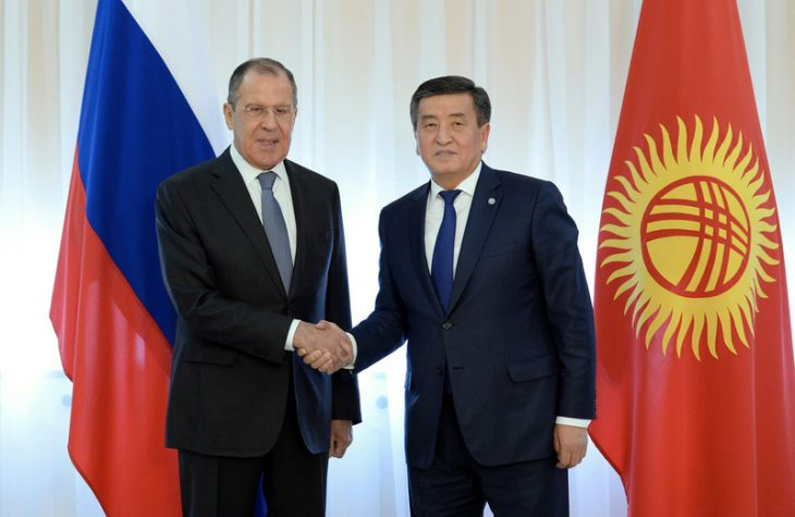 Russian FM Lavrov visits Kyrgyzstan to prepare for Putin's official trip
